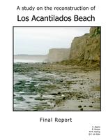 A study on the reconstruction of Los Acantilados Beach, Argentina