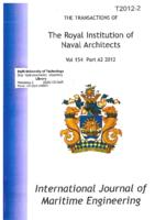 International Journal of Maritime Engineering