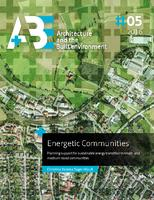 Energetic Communities: Planning support for sustainable energy transition in small- and medium-sized communities