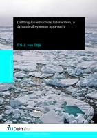 Drifting-ice structure interaction, a dynamical systems approach