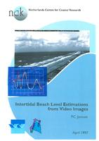 Intertidal beach level estimations from video images