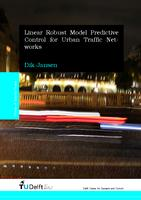 Linear Robust Model Predictive Control for Urban Traffic Networks