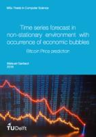 Time series forecast in non-stationary environment with occurrence of economic bubbles
