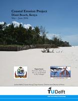 Coastal erosion project, Diani beach, Kenya