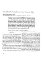 Probabilistic fire safety assessment of passenger ships