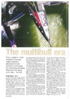 The multihull era. From J-boats to J-foils America's Cup spar maker, engineer, aficionado and all round Cup enthusiast Ric Hall brings his latest Seahorse Cup trilogy up to date...for now