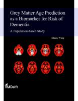 Grey Matter Age Prediction as a Biomarker for Risk of Dementia