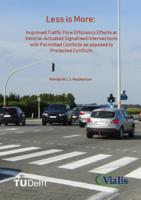 Less is More: Improved Traffic Flow Efficiency Effects at Vehicle-Actuated Signalised Intersections with Permitted Conflicts as opposed to Protected Conflicts