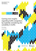 Gaining new insights regarding traffic congestion, by explicitly considering the variability in traffic