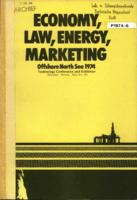 Offshore North Sea 1974, Economy, Law, Energy, Marketing, Technology Conference and Exhibition, Stavanger, Norway