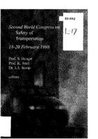 Second World Congress on Safety of Transportation