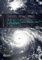 Density driven flows, due to hurricanes