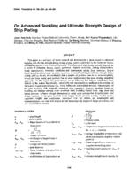On advanced buckling and ultimate strength design of ship plating
