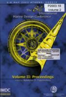 Proceedings of the 8th International Marine Design Conference, IMDC'03, 5-8 May 2003, Athens, Greece, Volume 2, ISBN: 960-92218-2-3