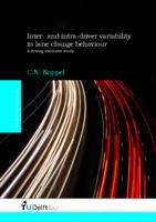 Inter- and intra-driver variability in lane change behaviour