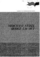 Merchant vessel bridge lay-out