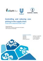 Controlling and reducing case picking in the supply chain: A case study of Unilever & Kuehne + Nagel