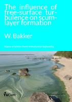The influence of free-surface turbulence on scum-layer formation