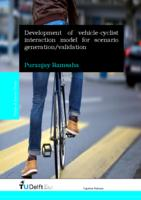 Development of vehicle-cyclist interaction model for scenario generation/validation