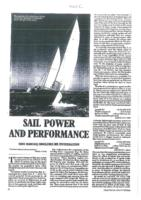 Sail power and performance