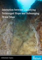 Interaction between Liquefying Submerged Slope and Submerging Water Mass