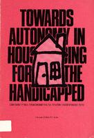 Towards autonomy in housing for the handicapped