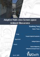 Adaptive Multi-view Screen-space Ambient Obscurance