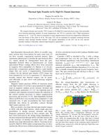 Thermal Spin Transfer in Fe-MgO-Fe Tunnel Junctions