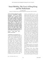 The cases of Hong Kong and The Netherlands