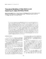 Theoretical modeling of ship motions and capsizing in large and steep waves