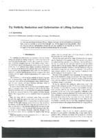 Tip vorticity reduction and optimization of lifting surfaces