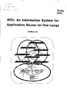 RITL: An information system for application Reuse-in-the-Large