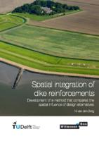 Spatial integration of dike reinforcements
