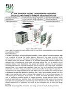 2nd Skin approach to zero energy rental properties: Occupancy patterns to improve energy simulation