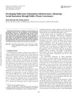 Developing Multi-Layer Information Infrastructures: Advancing Social Innovation through Public–Private Governance