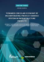 Towards circular economy by incorporating product-service system in infrastructure projects
