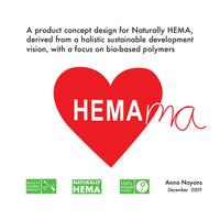 A future product concept design for Naturally HEMA, derived from a holistic sustainable development vision, with a focus on bio-based polymers