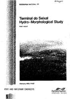 Terminal do Seixal, hydro-morphological study