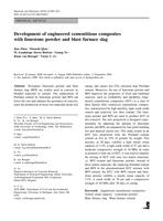 Development of engineered cementitious composites with limestone powder and blast furnace slag