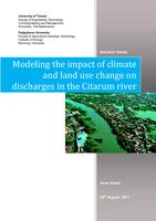 Modeling the impact of climate and land use change on discharges in the Citarum river