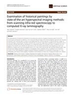 Examination of historical paintings by state-of-the-art hyperspectral imaging methods: From scanning infra-red spectroscopy to computed X-ray laminography