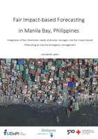 Fair Impact-based Forecasting in Manila Bay, Philippines