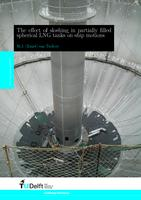 The effect of sloshing in partially filled spherical LNG tanks on ship motions