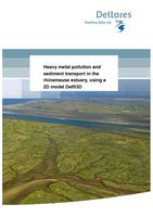 Heavy metal pollution and sediment transport in the rhinemeuse estuary, using a 2D model Delft3D: Water quality and calamities. Case study Biesbosch