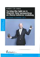 Turning the light on in Virginia: New perspectives on choice behavior modeling