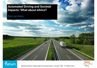 Automated Driving and Societal Impacts: What about ethics?