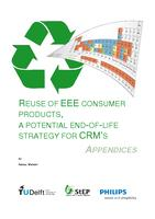Reuse of EEE consumer products, a potential End-of-Life strategy for CRM's