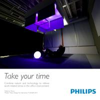Take your time: Combine nature and technology to relieve work related stress in the office environment