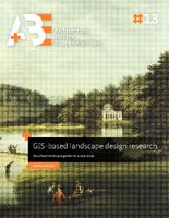 GIS-based landscape design research: Stourhead landscape garden as a case study