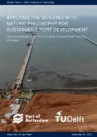 Applying the 'Building with Nature' philosophy for sustainable port development